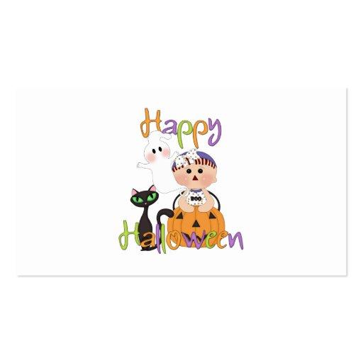 Happy Halloween Baby Friends Business Card