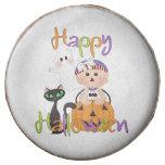 Happy Halloween Baby Friends Chocolate Dipped Oreo