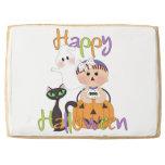 Happy Halloween Baby Friends Jumbo Cookie