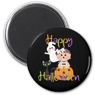 Happy Halloween Baby Friends 2 Inch Round Magnet