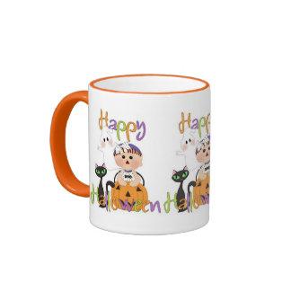 Happy Halloween Baby Friends Ringer Coffee Mug