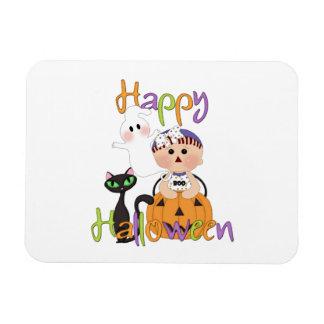 Happy Halloween Baby Friends Rectangular Photo Magnet