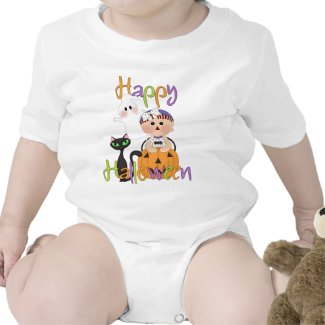 Happy Halloween Baby Friends Shirts