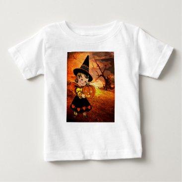 Halloween Themed HAPPY HALLOWEEN BABY T-Shirt