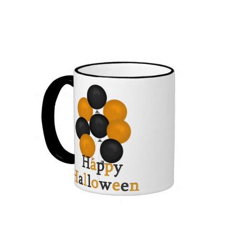 Happy Halloween Balloons Mug mug