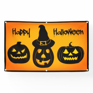 Professional Business Happy Halloween Banner