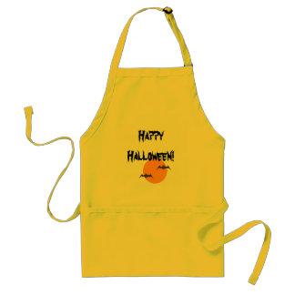Happy Halloween Bat Adult Apron