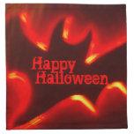 Happy Halloween Bat Cloth Napkin