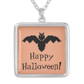Happy Halloween!  Bat Necklace