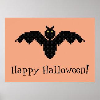 Happy Halloween! Bat Poster