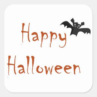 Happy Halloween Bat Sticker