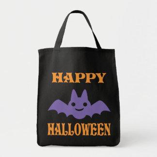 Happy Halloween Bat Tote Bag