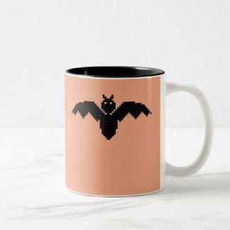 Happy Halloween! Bat Two-Tone Coffee Mug