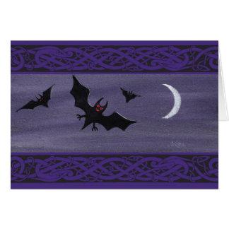 Happy Halloween Bats Card