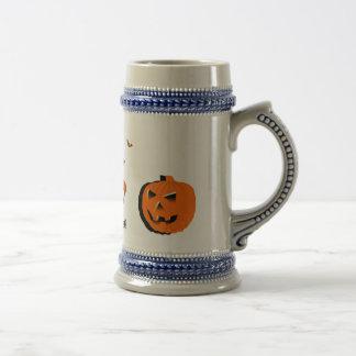 Happy Halloween Beer Stein