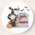 Happy Halloween - Beverage Coasters