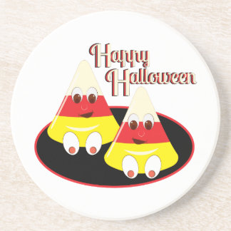 Happy Halloween Beverage Coasters
