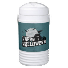 Happy Halloween Beverage Cooler