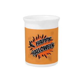 Happy Halloween Beverage Pitcher
