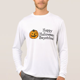 Happy Halloween Beyotches Pumpkin T-Shirt