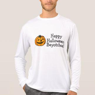 Happy Halloween Beyotches Pumpkin T-Shirt
