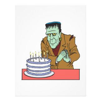 "Happy Halloween Birthday 8.5"" X 11"" Flyer"