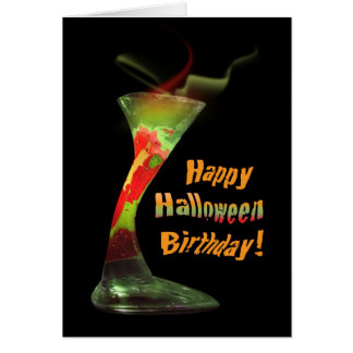 happy halloween birthday card - Happy Halloween Birthday