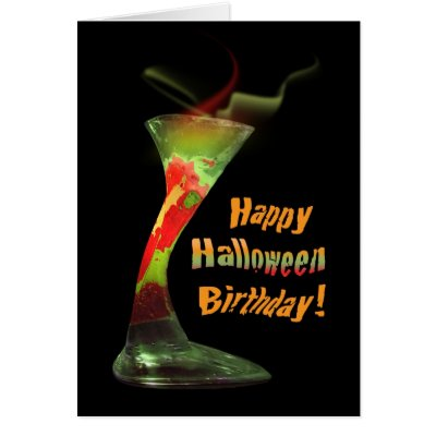 Enchanted halloween birthday wishes card zazzle bookmarktalkfo Images