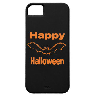 Happy Halloween Black Bat iPhone SE/5/5s Case