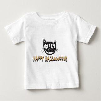 Happy Halloween Black Cat Baby T-Shirt