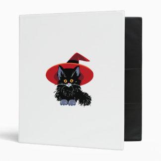 Happy Halloween Black Cat Binder
