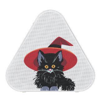Happy Halloween Black Cat Bluetooth Speaker