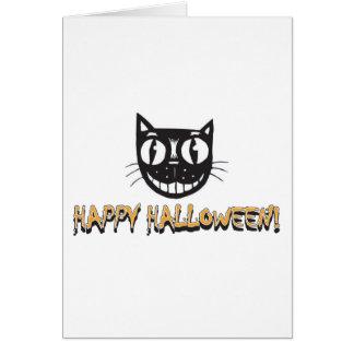 Happy Halloween Black Cat Cards