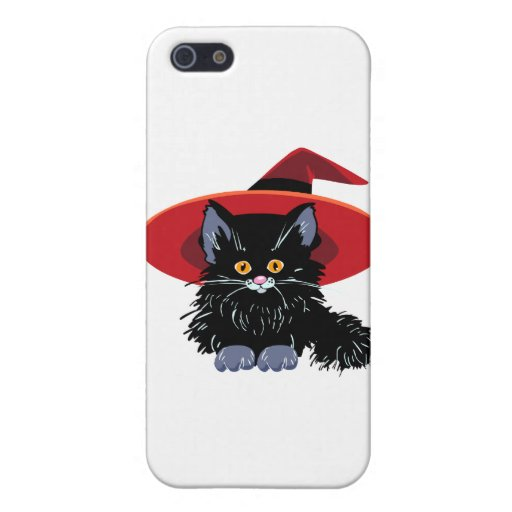Happy Halloween Black Cat Covers For iPhone 5