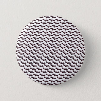 Happy Halloween Black Cat Paper Pin Button