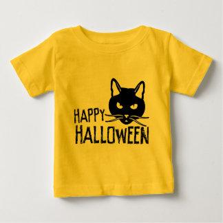 Happy Halloween Black Cat T-shirt