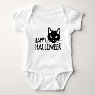 Happy Halloween Black Cat Tees