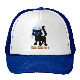 Happy Halloween Black Kitten Hats