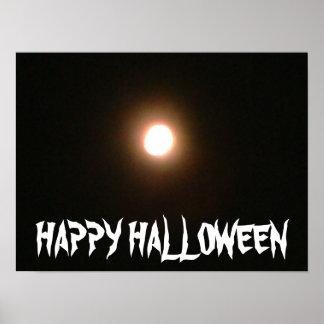 HAPPY HALLOWEEN BLACK MOON poster