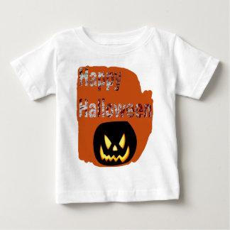 Happy Halloween Blood Splatter Design Baby T-Shirt