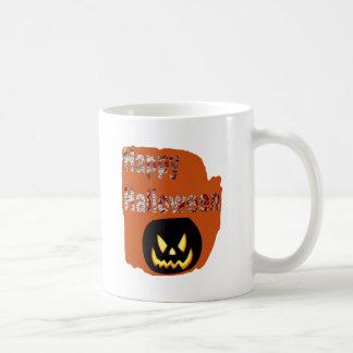 Happy Halloween Blood Splatter Design Coffee Mug