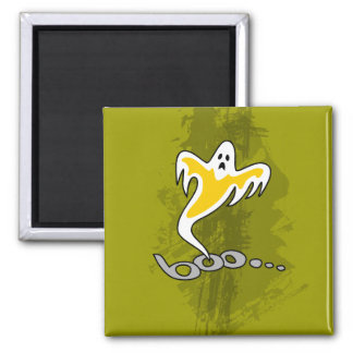 Happy Halloween, Boo 2 Inch Square Magnet