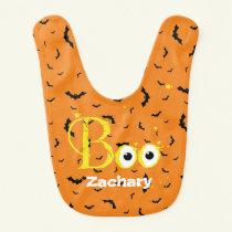 Happy Halloween Boo Baby Bib