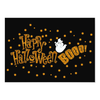 Happy Halloween Boo Card
