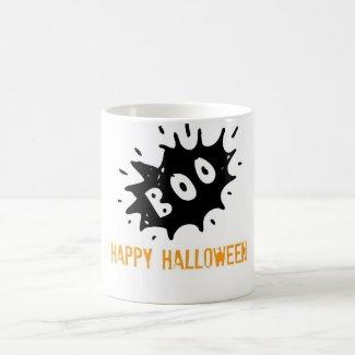 Happy Halloween Boo! Coffee Mugs