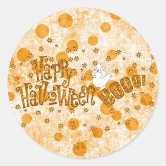 Happy Halloween Boo Sticker
