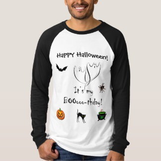 Happy Halloween Booothday T-shirt (see back)