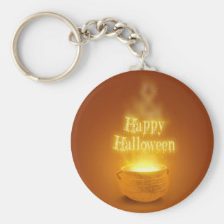 Happy Halloween Caldron - Keychain