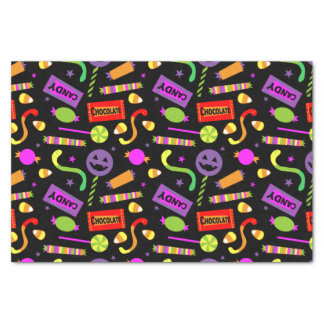 "Happy Halloween Candy 10"" X 15"" Tissue Paper"