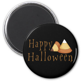 Happy Halloween Candy Corn Magnets